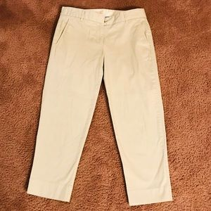 J.Crew cropped ankle pants